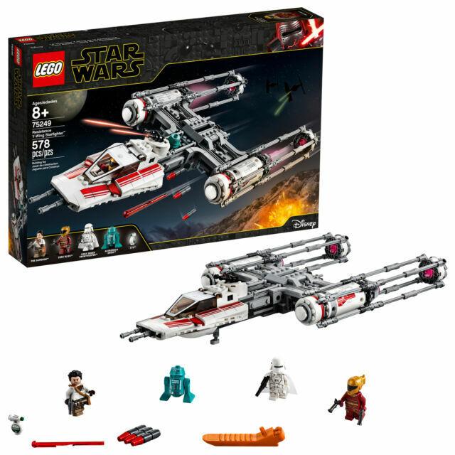 Lego Star Wars : Resistance Y-Wing Starfighter (75249)