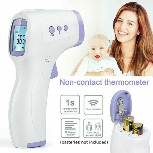 Neue Digital IR Infrarot Thermometer Baby Erwachsene Ohr Stirn LCD FY