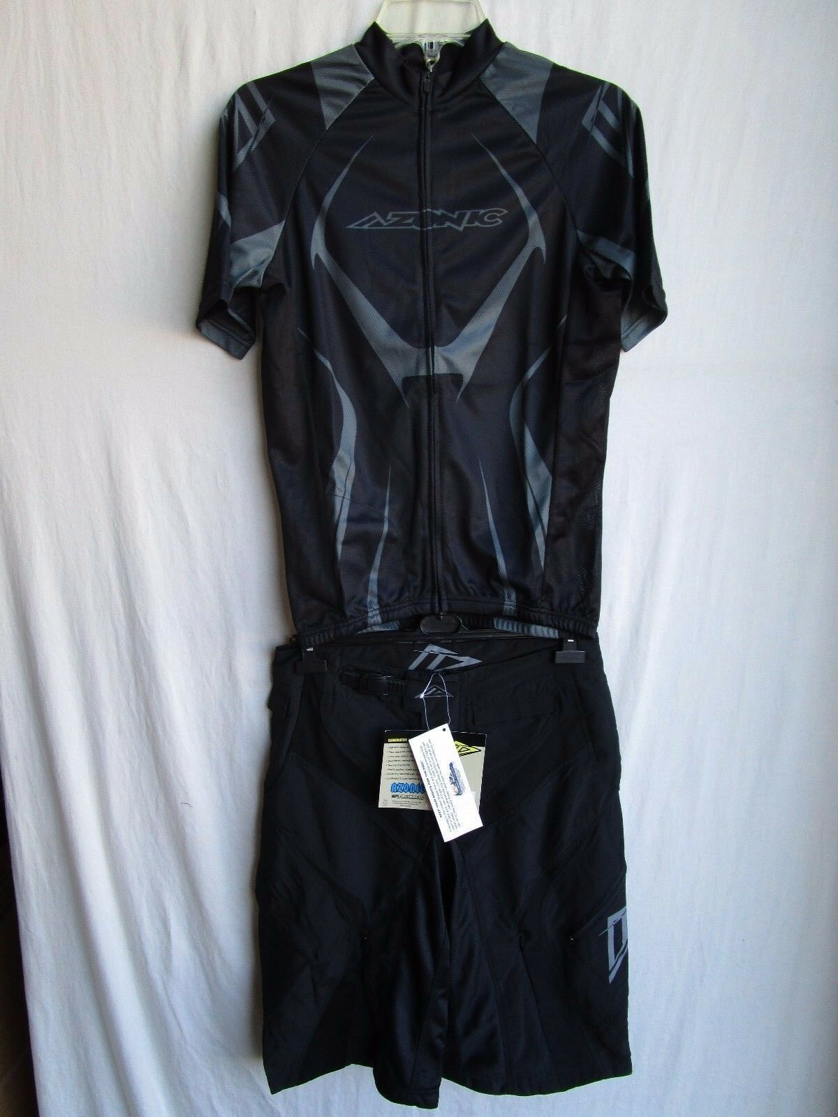 O'NEAL AZONIC Herren cycling combo SMALL set GENERATOR jersey sz SMALL combo & shorts sz 28 ffff80