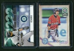 2016-TOPPS-CHASING-3K-3000-13-ICHIRO-2018-TOPPS-GYPSY-QUEEN-2-CARD-LOT