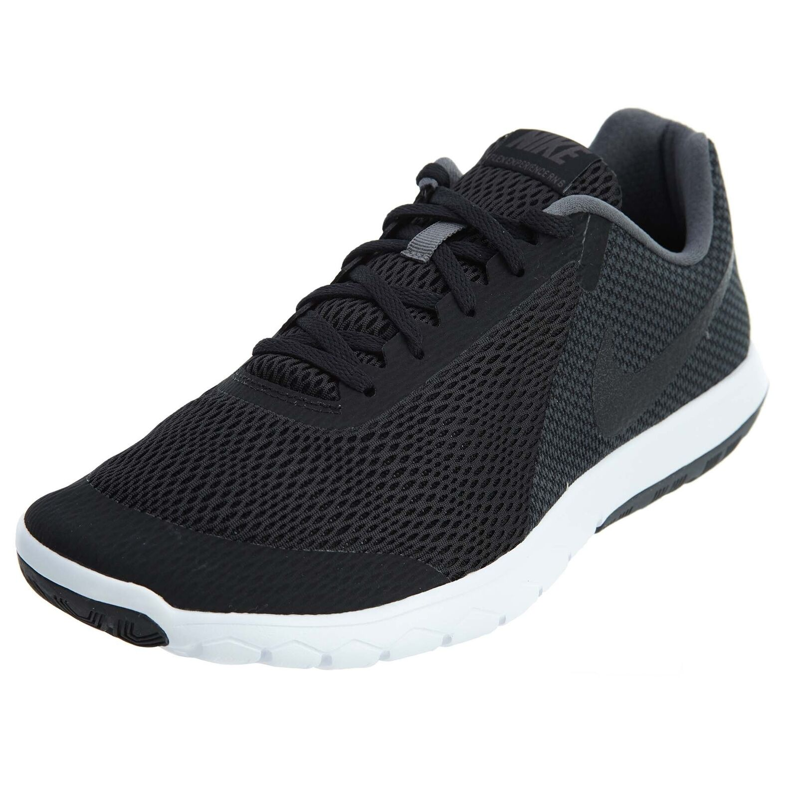 NIKE Men's Flex Experience Run 6 Running shoes Wide 4E Black Dark Grey White S...