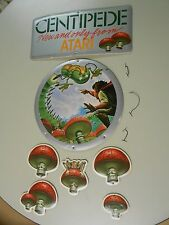 Vintage 1983 Atari Centipede Mobile Store Display Promotional Sign