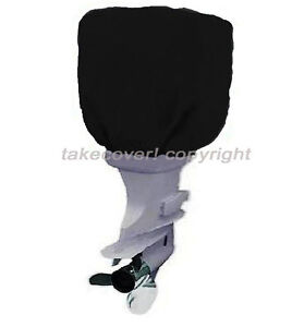 115-to-225-HP-Boat-Outboard-Motor-Engine-Cover-Black-Universal-Trailerable-B25