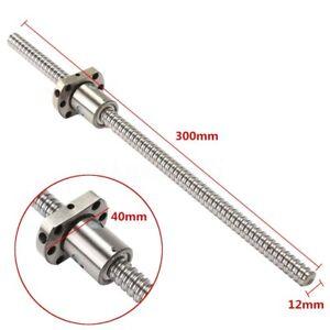 Reversibile-Vite-e-chiocciola-A-Ricircolo-di-sfere-BallScrews-SFU1204-L300mm