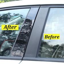 Glossy Black Pillar Posts For Honda Civic 2006 2011 6pcsset Door Trim Cover Fits 2006 Civic