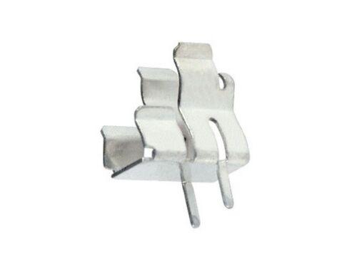 10x Clips portafusibile per fusibili 5x20 e 6,3x32 mm clip porta fusibile  1245