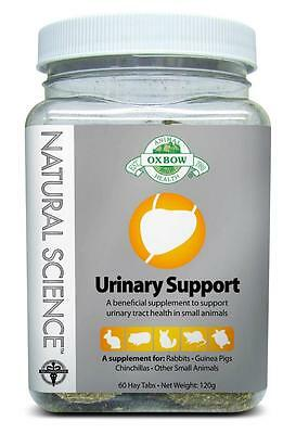 Oxbow - Small Animal Urinary Support Supplement 60 Hay Tabs ~EXPIRED 5/2016