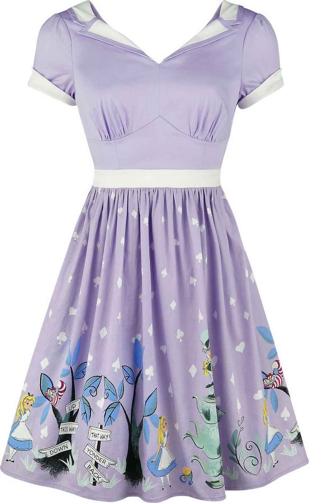 Alice in Wonderland Kawaii Lolita Cosplay Halloween Tea Party Dress Size M