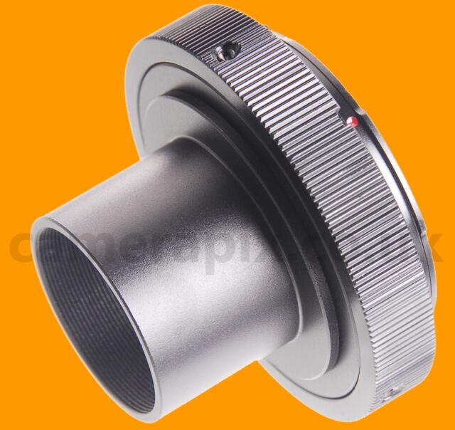 "1.25 inch to Pentax PK K-mount telescope T-adapter ring 1.25"" filter Celestron"