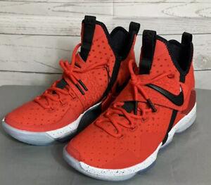 Nike-Lebron-14-XIV-University-Red-Mens-Size-8-Basketball-852405-600-King-James