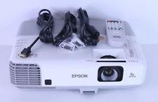 Epson PowerLite 905 LCD Projector H387A HDMI Crestron LAN USB