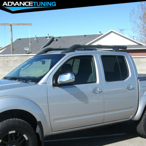 Fits 05-17 Nissan Frontier 4Dr OE Style Black Roof Rack Rail SUV Aluminum