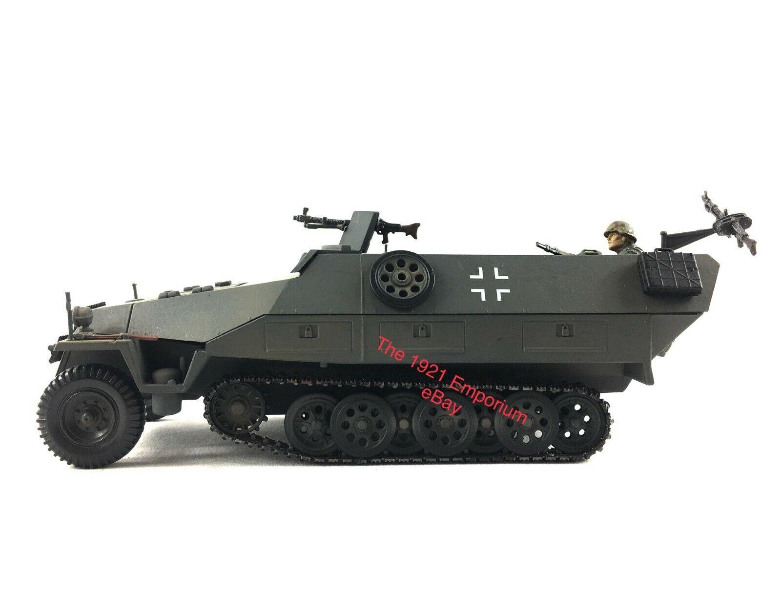 1 32 21st Century Toys Ultimate Soldier German Hanomag Sdkfz 251 1 Halftrack