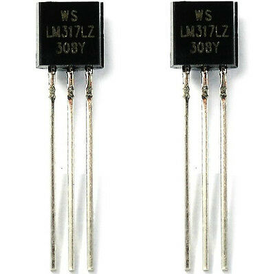 3x LM317LZ LM317L LM317 0.1A Voltage Regulators IC FAST USA SHIPPING