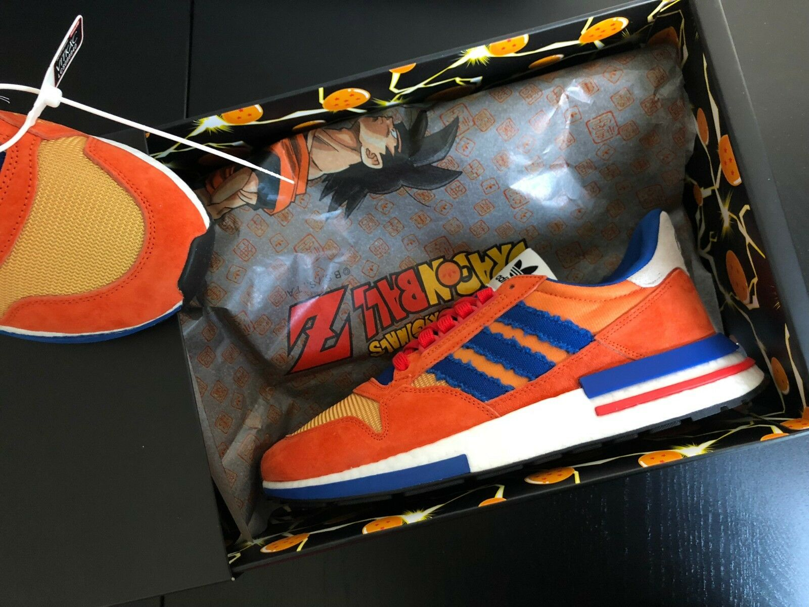 Adidas X Dragon Ball ZX 500 RM Son Goku MULTIPLE SIZES US 8.5 10 10.5 11