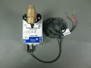 "Johnson Controls 1/2"" NPT 2-Way Brass Valve VA9203-GGA-2Z Proportional Actuator"