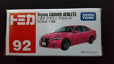 TOMICA #92 TOYOTA CROWN ATHLETE 1/66 SCALE NEW IN BOX
