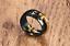 Fedine-Fedina-Anello-Massiccio-Croce-Celtica-Templare-Oro-Nero-Ring-Unisex-Uomo miniatura 2