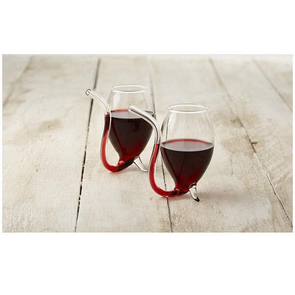 6X Port Sipper Glasses Set Home Pub Bar Rich Flavor Wine Winter Drinking Gift