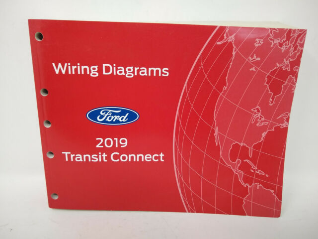 2019 Official Ford Oem Transit Connect Wiring Diagram Manual