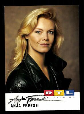 100% Wahr Anja Freese Rtl Autogrammkarte Original Signiert ## Bc 151610 Reichhaltiges Angebot Und Schnelle Lieferung