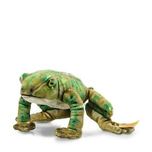 Steiff-056536-National-Geographic-Froggy-Frosch-12-cm