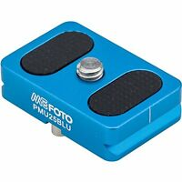 Mefoto Camera Quick Release Plate For Backpacker Air Tripods Blue on sale