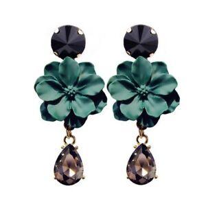 Nice Fashion Jewelry Statement Tassel Flower Vintage Long Women Bohemian Earrings Ethinic Gold Big Dangle Drop Earrings For Women 100% Original Earrings
