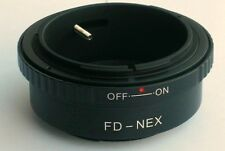 Canon FD to Sony E Lens Mount Adapter  NEX-3 NEX-7 NEX 6 Mount Adapter FD-NEX