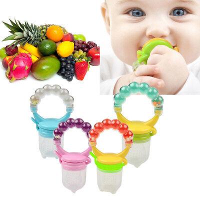 Baby nipple Fresh Food Nibbler Baby Pacifiers Feeder Kids Fruit feeding nipple S