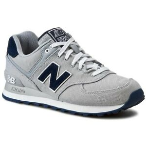 Men New Balance Polo White Shoes 574 Pique Sneaker Sneakers
