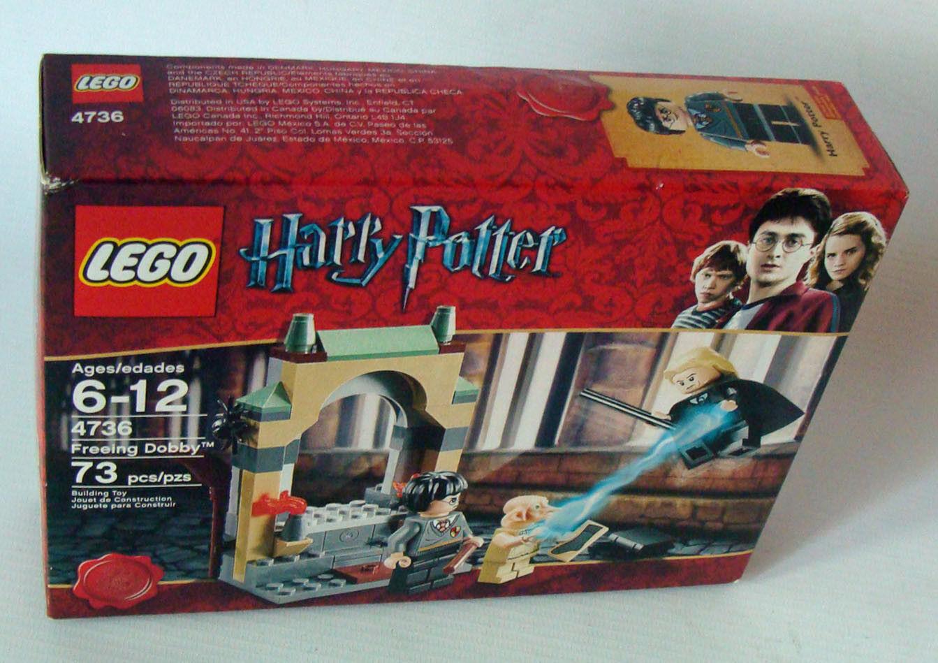 Lego ® Harry  Potter 4736-dobbys libération 73 pièces 6-12 ans NEUF nouveau  boutique en ligne