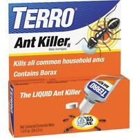 Terro Ant Killer Liquid Borax 1oz Household Sweet Eating Ants T100 Bottle 2 Pack Garden