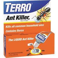 Terro Ant Killer Liquid Borax 1oz Household Sweet Eating Ants T100 Bottle 2 Pack Garden