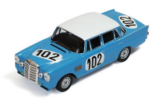Mercedes 300se (der)   102 gewinner 24h spa 1964 crevits   gosselin 1 43 modell