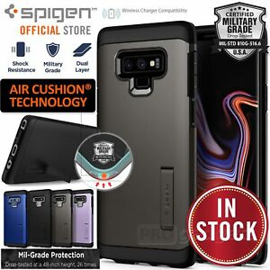 Galaxy Note 9 Case, Genuine SPIGEN Heavy Duty Tough Armor Hard Cover for Samsung