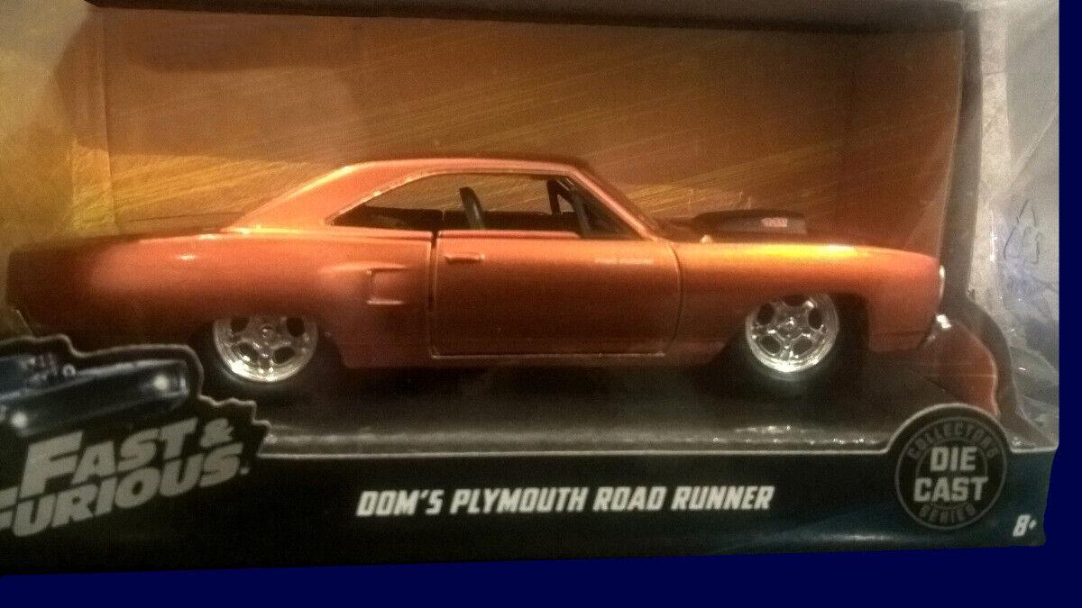 Plymouth Road Runner-Fast & Furious Rapido Y bissl FURIOSO Nº 6 la Nacion Argentina