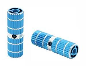 BMX-BIKE-FOOT-PEG-PEGS-3-8-034-3-8-AXLE-24T-OR-26T-BLUE-3-034-long