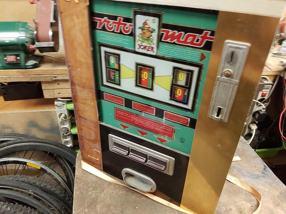 Roto mat, spilleautomat, Rimelig