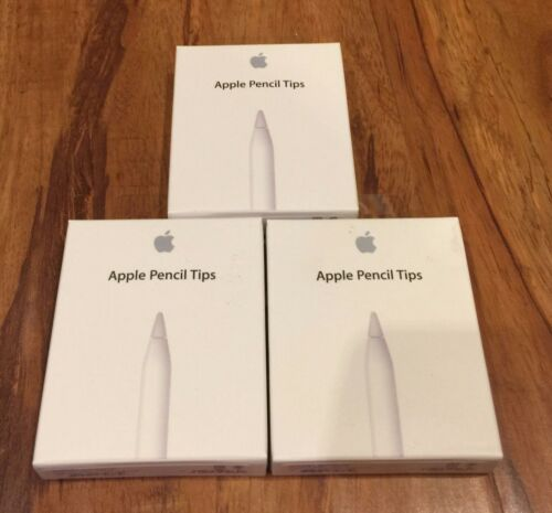 NEW Apple Pencil Tips 3 Packs of 4 Authentic Replacement Genuine Parts MLUN2AM//A