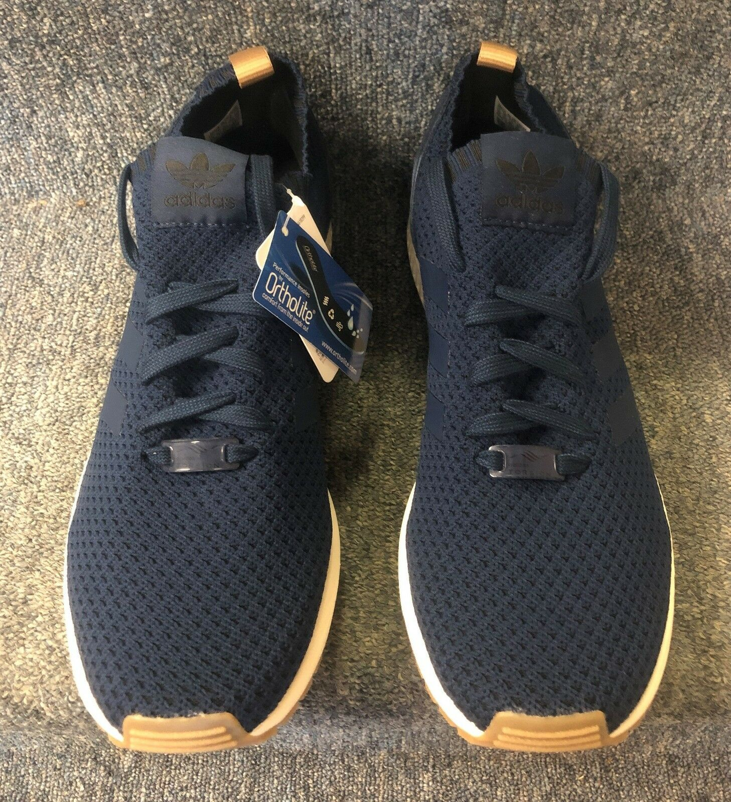 finest selection 6c9f2 5b57c Adidas Adidas Adidas Originals Men s Zx Flux Pk Fashion Sneaker-Navy-NWB  FREE SHIPPING