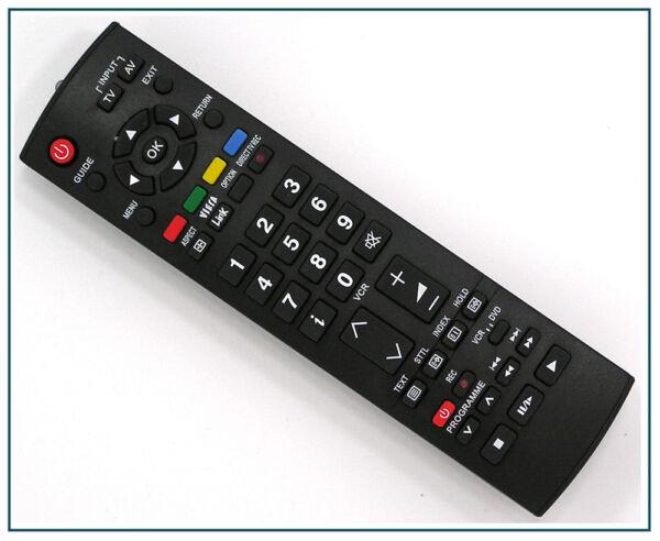 Télécommande De Remplacement Pour Panasonic Tv Tx-32led7fa Tx-32led7fm Une Large SéLection De Couleurs Et De Dessins