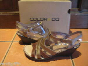 BRAND-NEW-womens-COLORADO-stylish-wedge-heel-sandal-shoes-SZ-9
