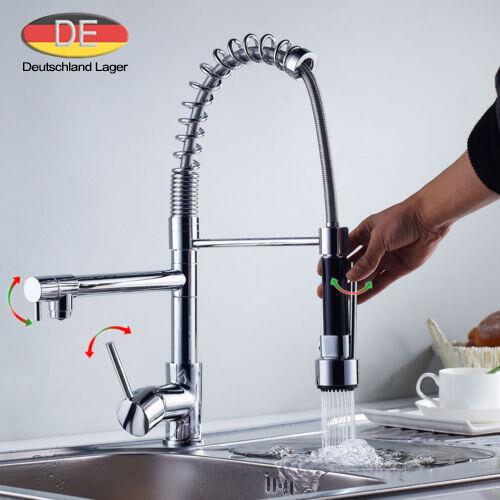 DE Ausziebar Wasserhahn Küche Waschtischarmatur Mischbatterie Spültisch Armatur | Qualitativ Hochwertiges Produkt  | Charakteristisch  |  Neuer Markt  | Hochwertige Materialien