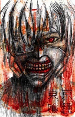 Tokyo Ghoul Anime Art 11 x 17 Quality Poster Manga Ken Kaneki