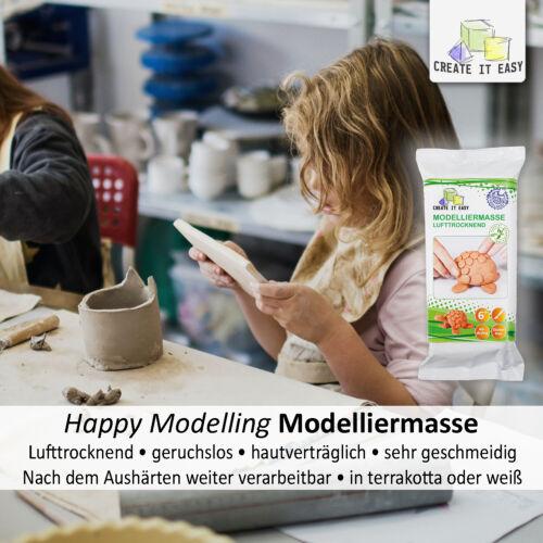 Happy Modelling Modelliermasse luftrocknend und sehr geschmeidig