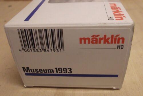 Märklin h0 museo carro 1993 con cena vagones L wackler/'S camiones nuevo en OVP