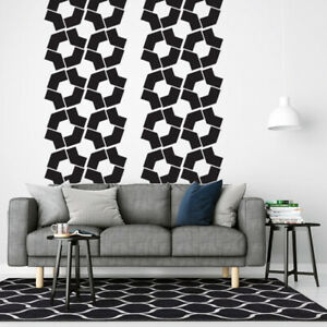 Details About Geometric Wall Decal Mid Century Decals Modern Nursery Decor Retro