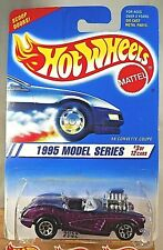 Hot Wheels 1995 Model Series /'58 Corvette Coupe # 3 of 12 Collector # 341 NIP