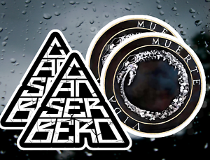 Canserbero VINYL Stickers Water Proof X4